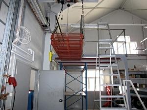 Stålkonstruktion brandstation